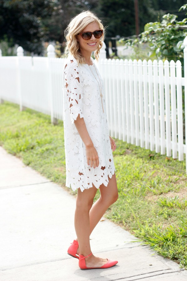 White Dress Life With Emily