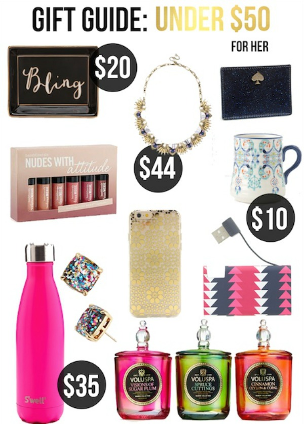 Gifts Under 50 For Her Life With Emily