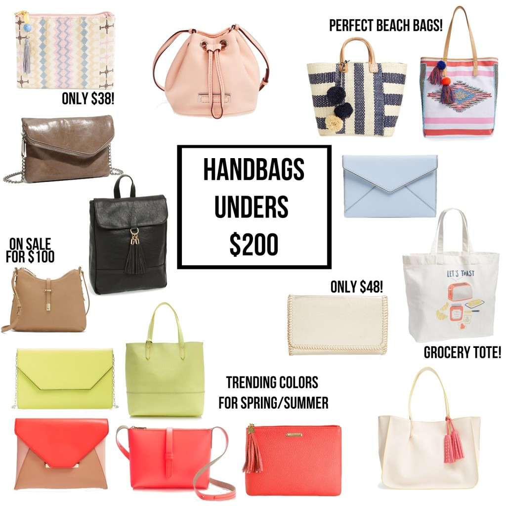 Today I Have Rounded Up My Favorite Spring Summer Bags That Are All Under 200